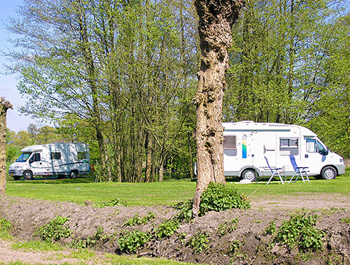 Camperplaatsen in Ootmarsum